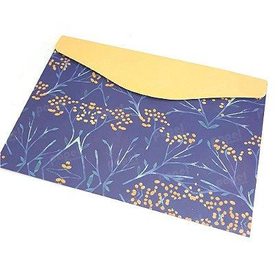 Pasta Envelope Nature Amarela