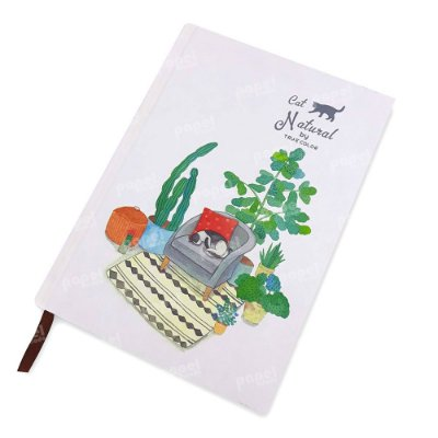 Caderneta Gato no Sofá
