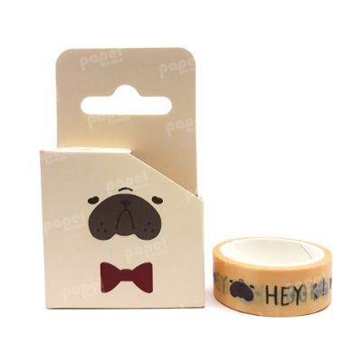 Fita Adesiva Washi Tape Bulldog