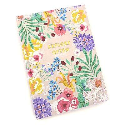Caderneta Floral