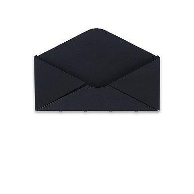 Porta Correspondências e Chaves Carta Preto