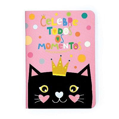 Caderninho Pontilhado Gato
