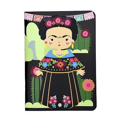 Caderninho Pontilhado Frida Khalo