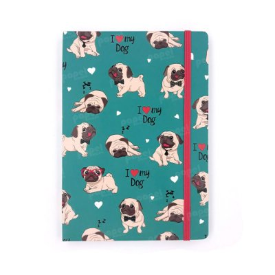 Caderneta Sem Pauta Dog