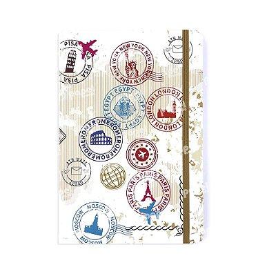 Caderneta Sem Pauta Viagens