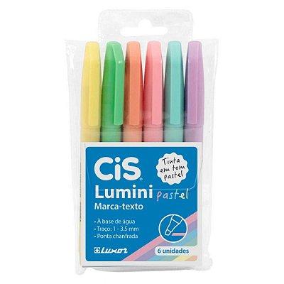 Conjunto Cis Lumini Pastel 6 Cores