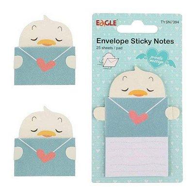 Sticky Notes Envelope Pato