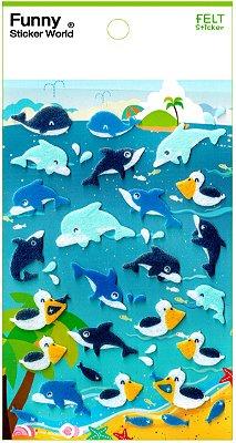 Adesivo Golfinhos
