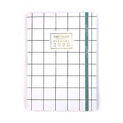Planner Brochura Quadriculado 2020