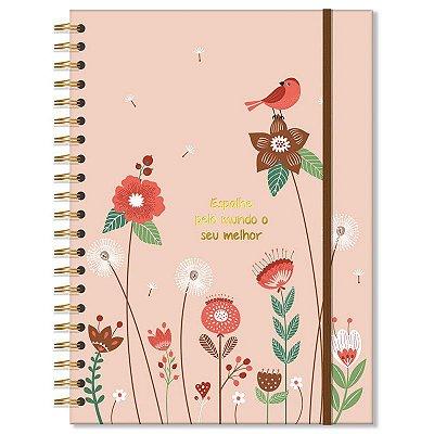 Caderno Jardim Grande 96 folhas