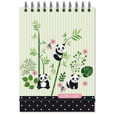 Caderno de Ideias e anotações Panda