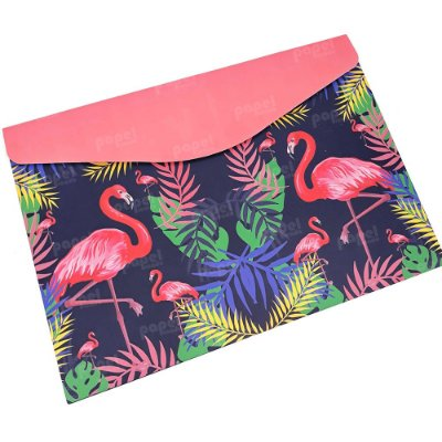 Pasta Envelope Flamingos Rosa