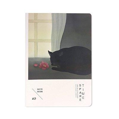 Caderno Brochura Gato Dormindo