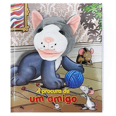 Livro Fantoche Gatinha