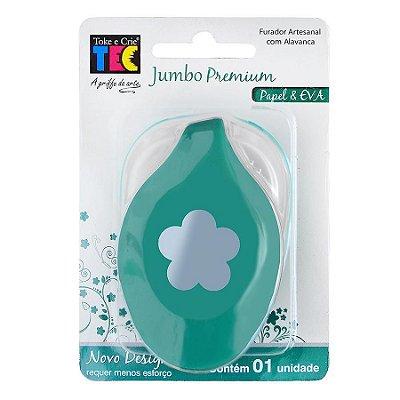 Furador Jumbo Premium Flor 5 Pétalas