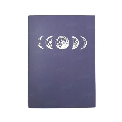Caderninho Brochura Fases Lunares