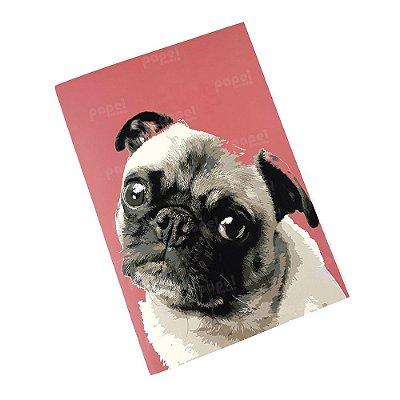 Caderninho Brochura Pug