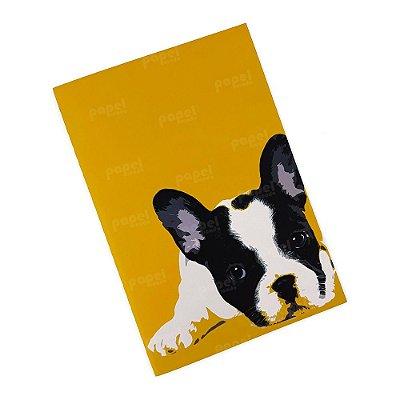 Caderninho Brochura Bulldog Francês