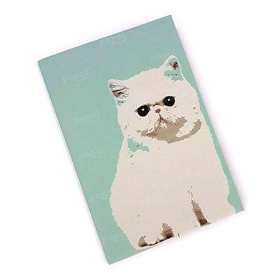 Caderninho Brochura Gato