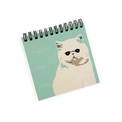 Bloco de Anotações Pequeno Gato