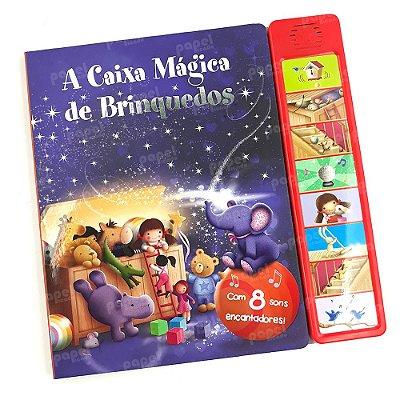 Livro Interativo Sonoro A Caixa Mágica de Brinquedos