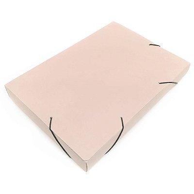 Pasta Fechamento em Elástico 4cm Nude