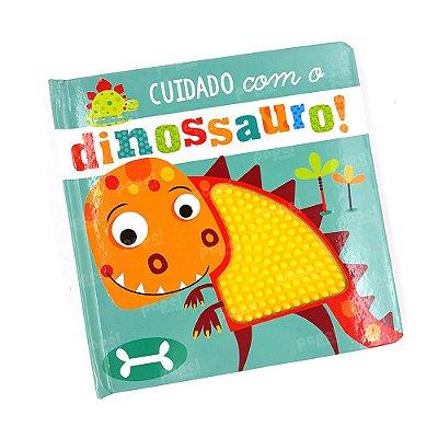 Livro Interativo com Textura Dinossauro