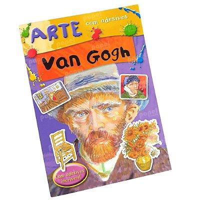 Livro História da Arte com Adesivos Van Gogh