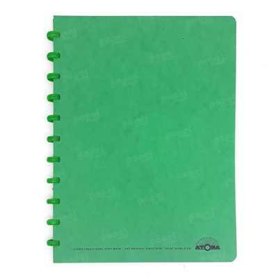 Caderno de Discos Verde A4