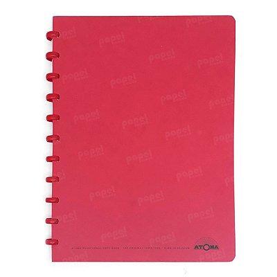 Caderno de Discos Vermelho A4