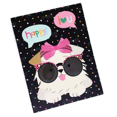 Planner Mensal Brochura Cachorro