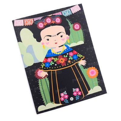 Planner Mensal Brochura Frida