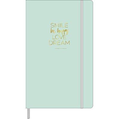 Caderneta sem Pauta Happy Verde