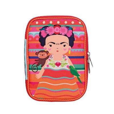 Estojo Organizador 100 Pens Frida Kahlo Colorido