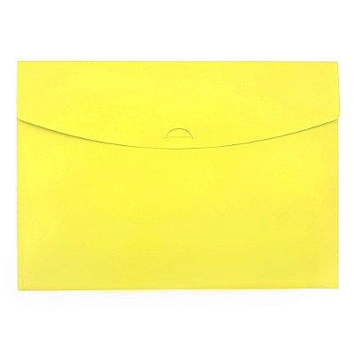 Pasta Envelope Amarela Neon