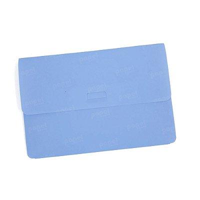 Pasta Envelope Azul Pastel A5