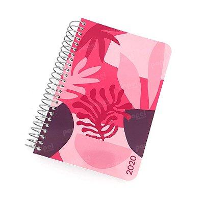 Agenda Diária 2020 Rosa Flor