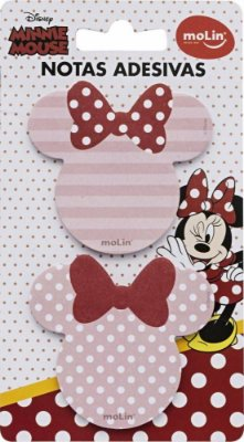 Bloco Notas Adesivas Minnie Mouse