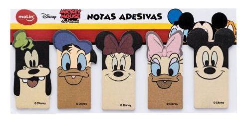 Bloco de Notas Adesivas Amigos Mickey Mouse
