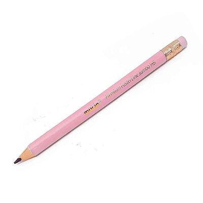 Lápis Premium Pastel Rosa HB Jumbo