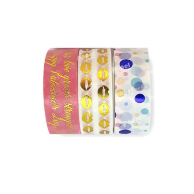 Conjunto Washi Tape 3 Unid Valentine's Day