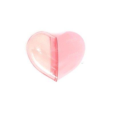 Apontador c/ Borracha Coração Rosa