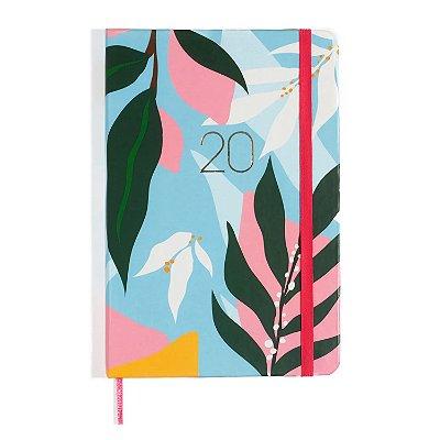 Agenda Planner 2020 Azul Flores