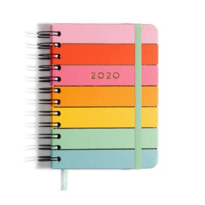 Agenda 2020 Espiral Diário Arco-Íris
