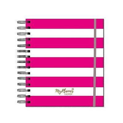 My Planner Permanente Listrado Pink
