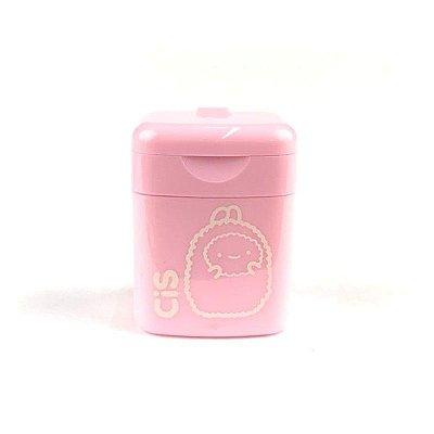 Apontador Pequeno Rosa Pastel