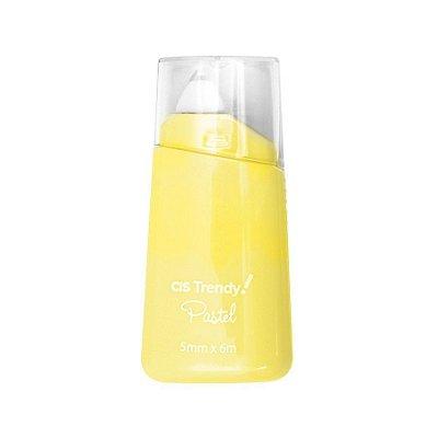 Fita Corretiva Trendy Tape Pastel Amarelo