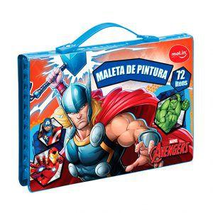 Maleta Artística Marvel 72 Ítens