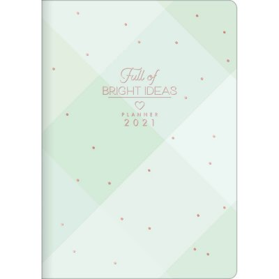 Planner Mensal Brochura Flexível Soho Pastel
