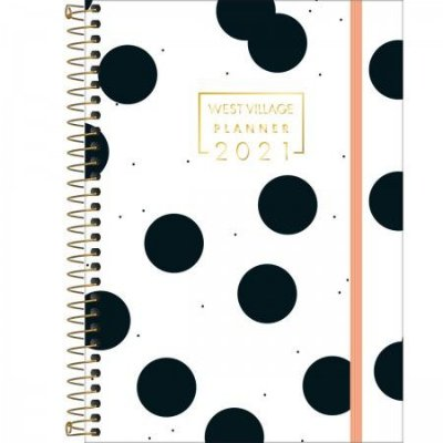 Planner Grande West Village 2021 Bolas